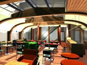 Belsőépítészet Articsóka étterem